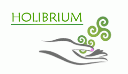 Hand with triskels and no writing, Holibrium's logo